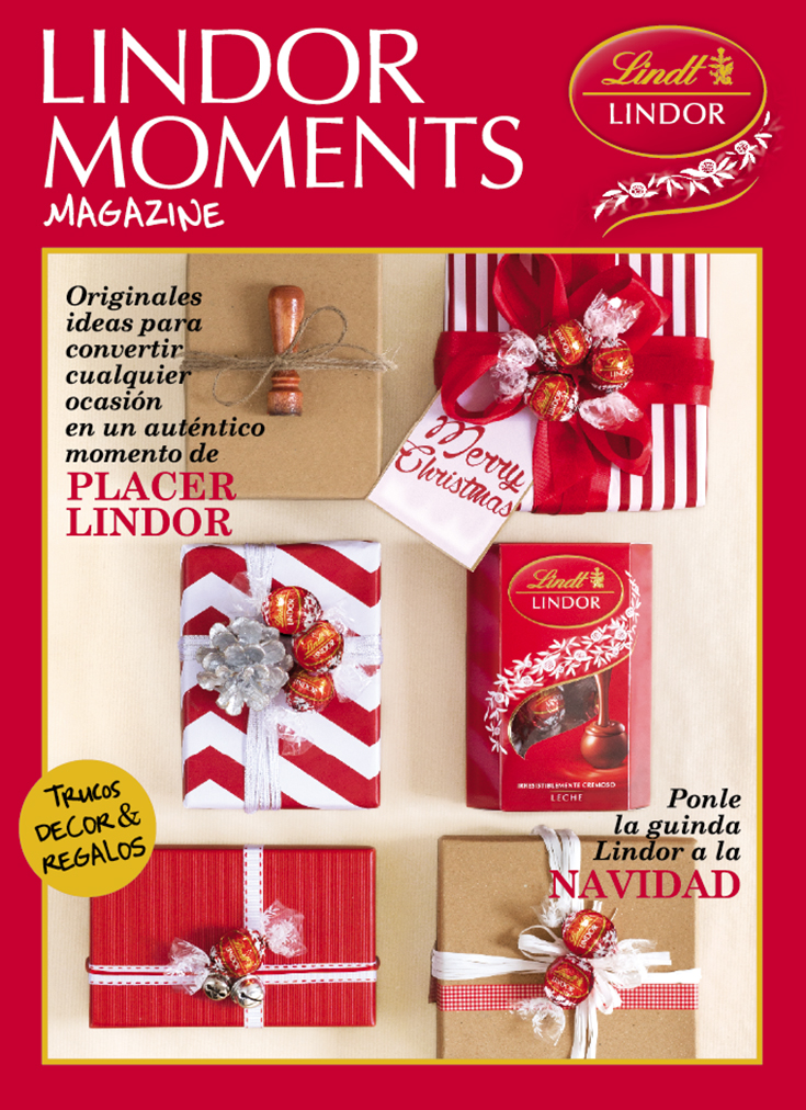 «Lindor Moments» Magazine Design