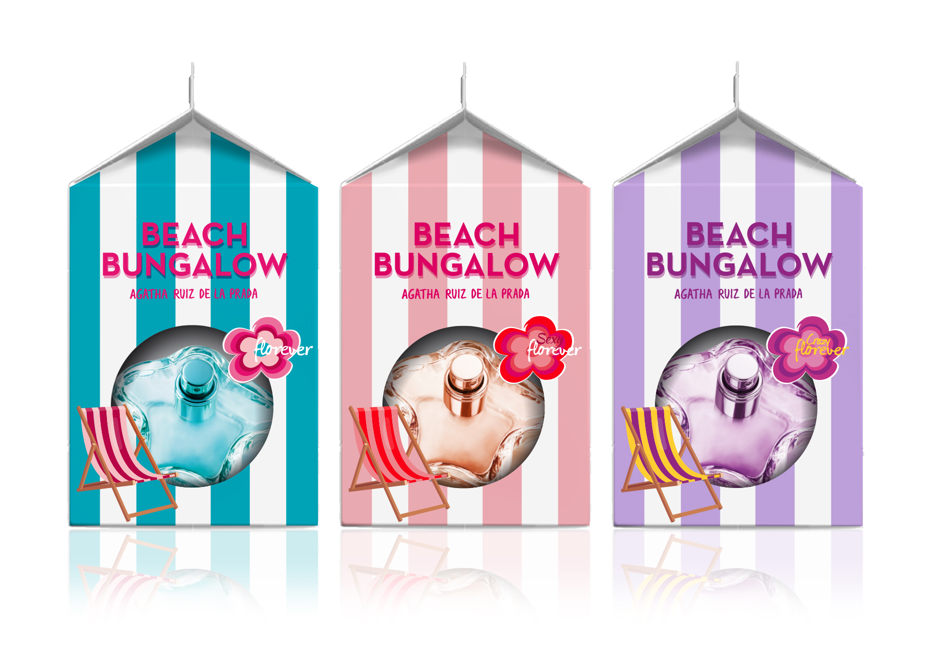 «Beach Bungalow» Special Edition x Agatha Ruiz de la Prada fragrances