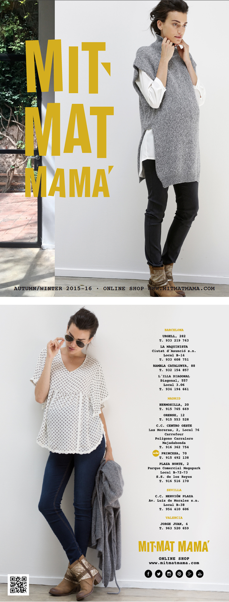 «Mit Mat Mama» Season Catalogue Design
