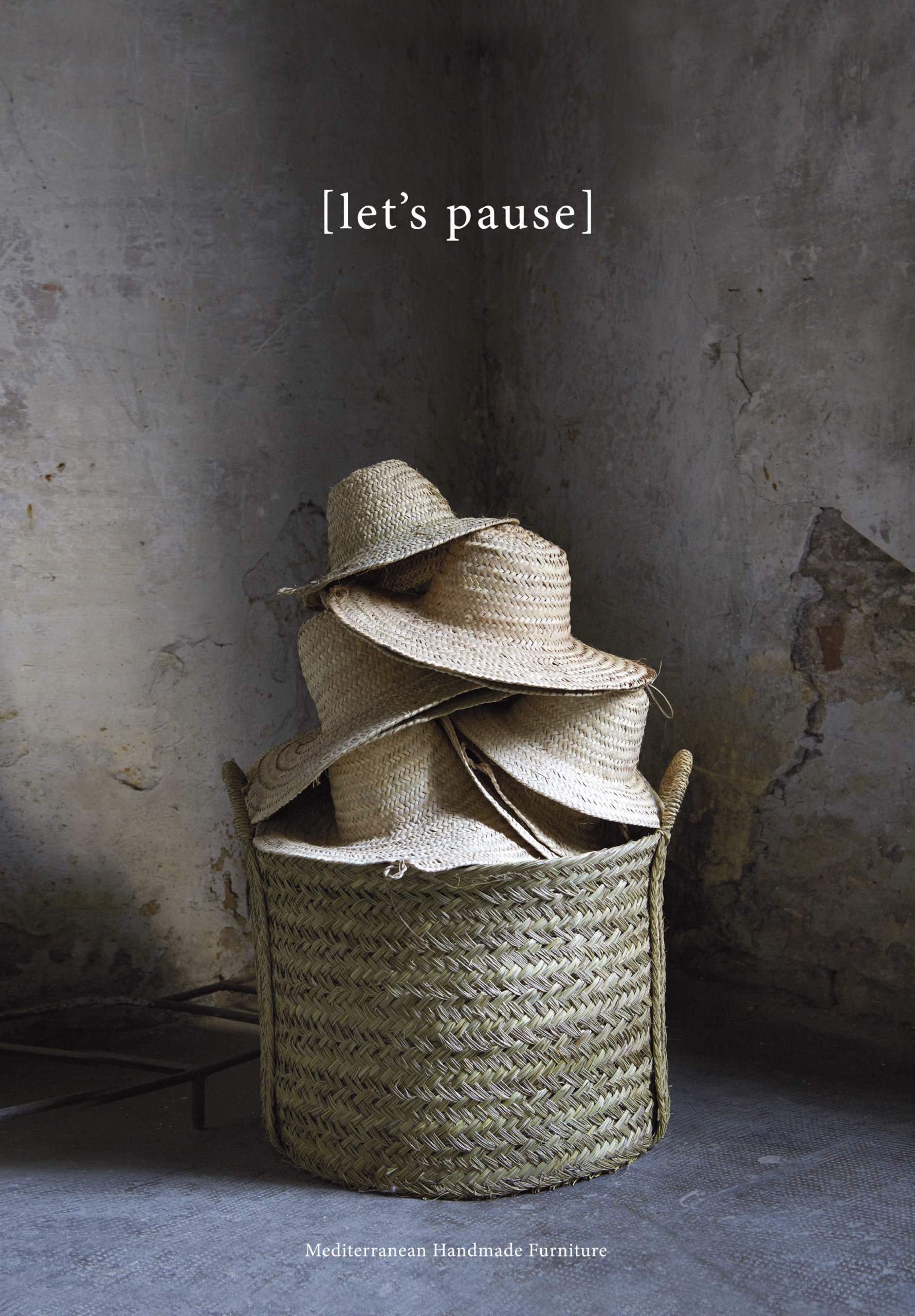 «Let's Pause» – Handmade Furniture Catalogue