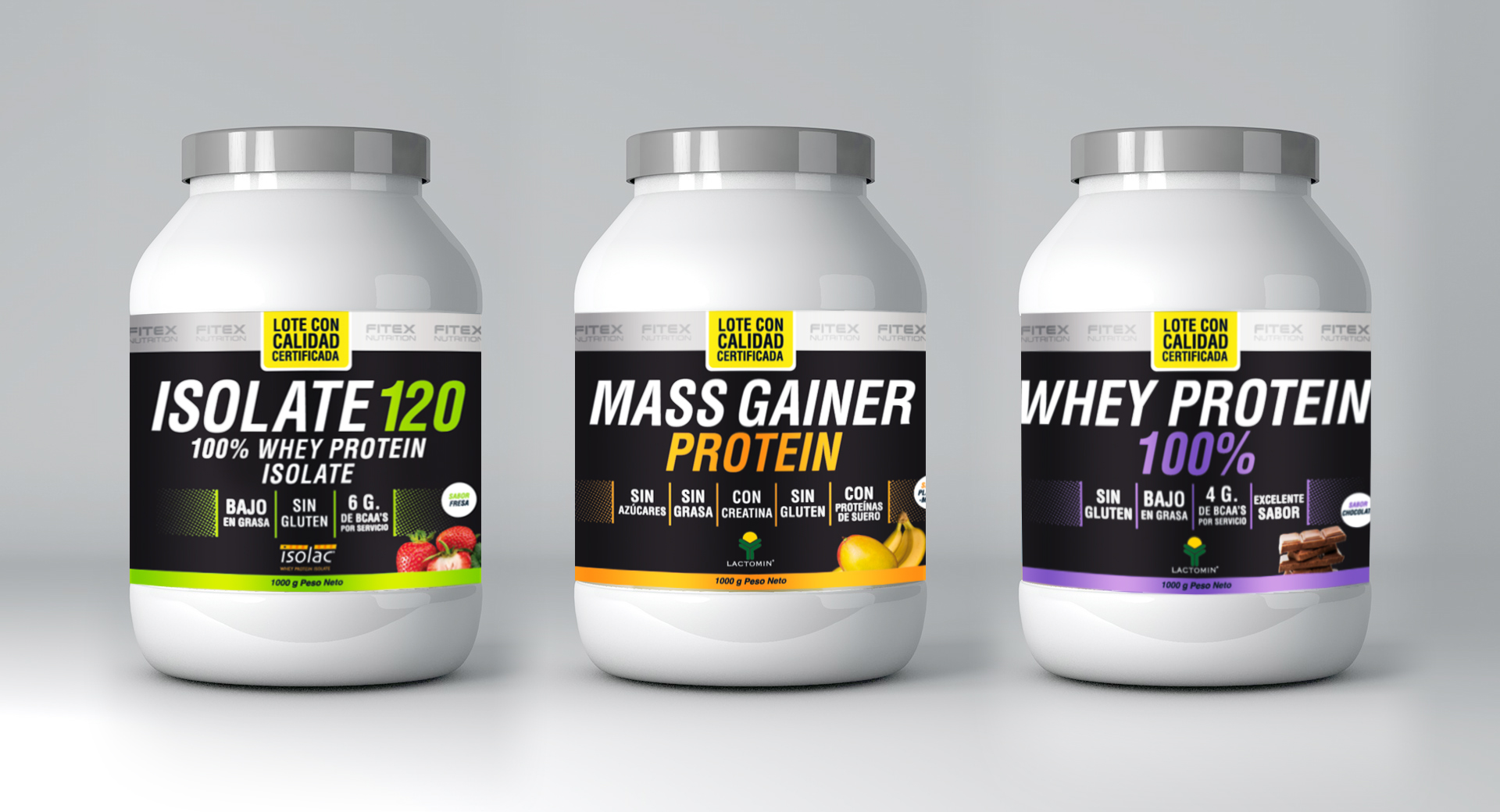 «Powergym» Product Packaging