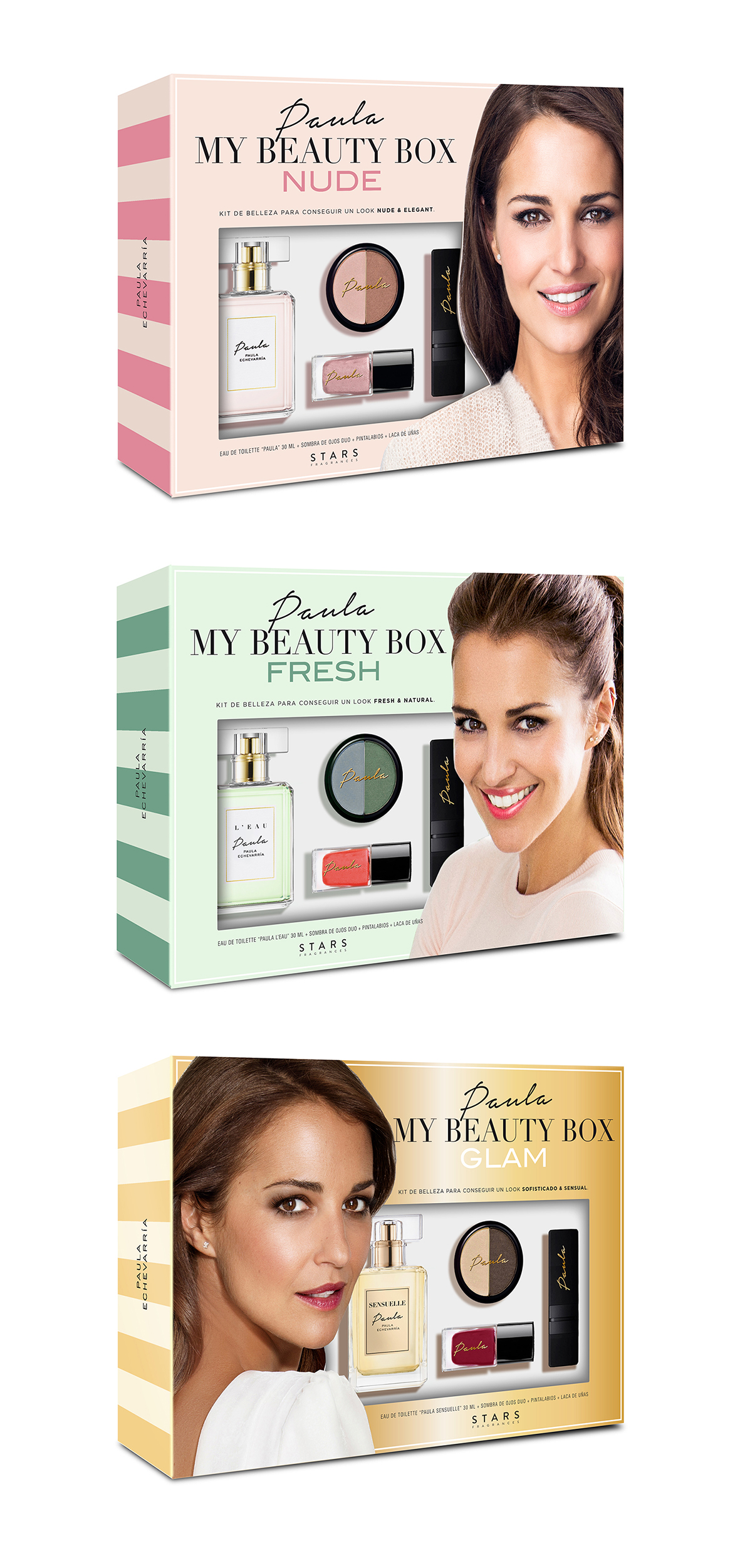 Paula Echevarría Fragrances – Special Make up Coffrets Collection