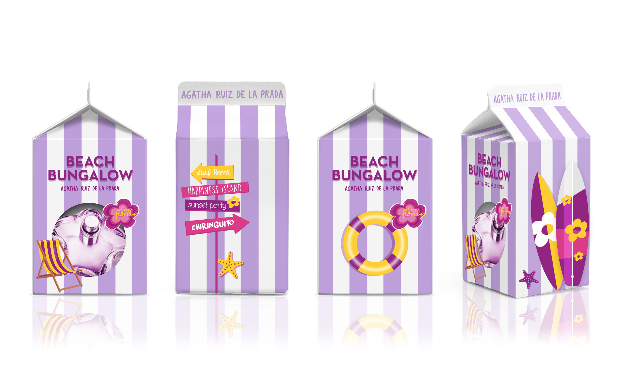 """Beach Bungalow"" Special Edition x Agatha Ruiz de la Prada fragrances"