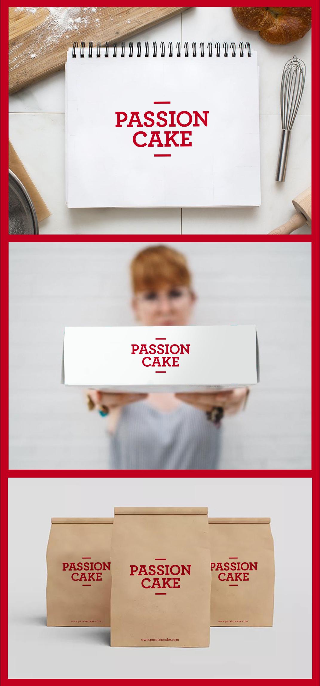 """Passion Cake"" Brand Identity"