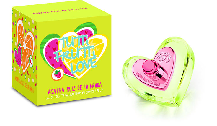 Agatha Ruiz de la Prada Fragrance Packaging Design