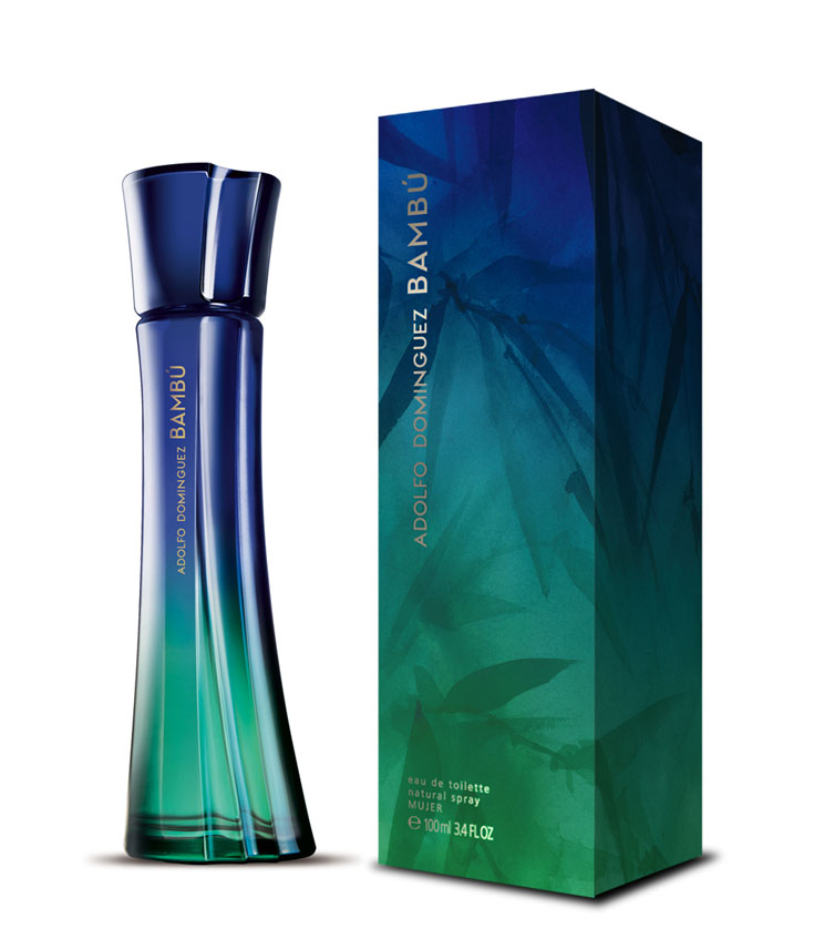Packaging Design x Adolfo Dominguez fragrance Bambu Woman