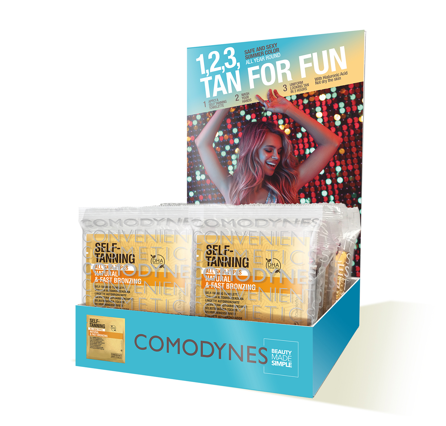 """Tan for Fun"" – Comodynes Campaign PLV"